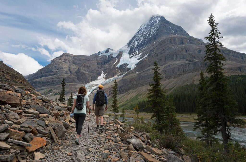 Future in Tourism, hiking Mt. Robson