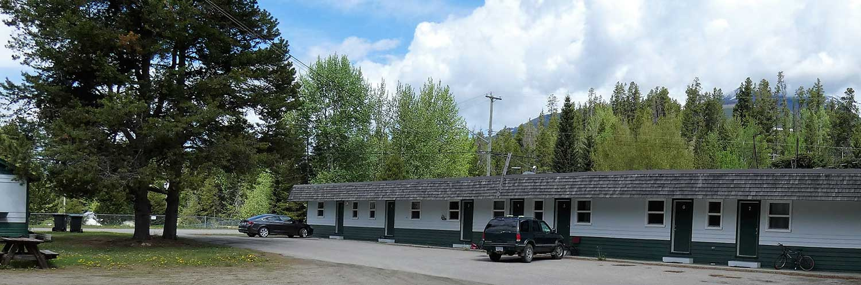 Valemount student housing exterior view